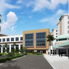 HCA Aventura Hospital Bed Tower Expansion